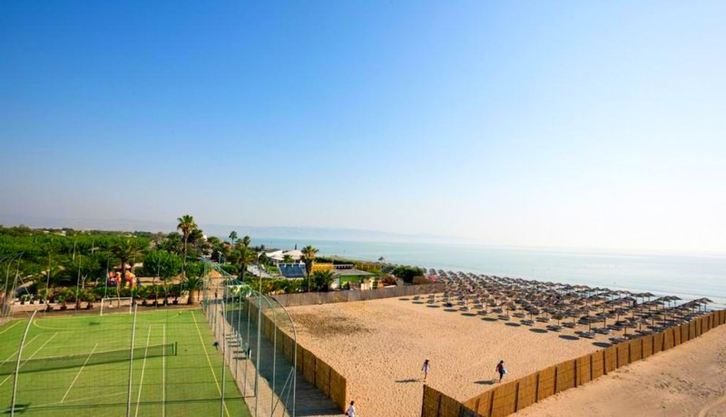 African Beach Hotel-Manfredonia - Ippocampo-mare
