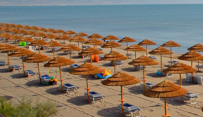 African Beach Hotel-Manfredonia - Ippocampo-spiaggia