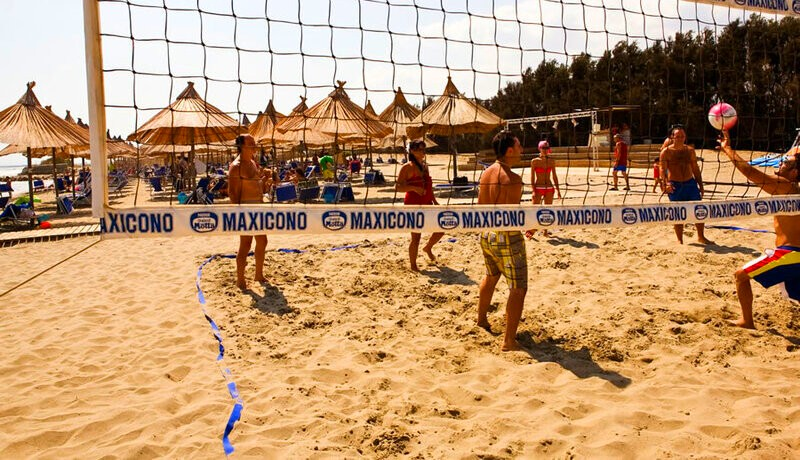 African Beach Hotel-Manfredonia - Ippocampo-beach volley